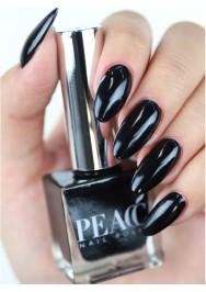 Jet Black Peacci Polish