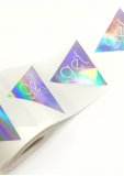 TGB Holographic Sticker